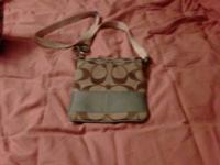 Coach purse only used two times. I'm asking $75.00 for