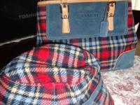 Coach purse with the matching hat..this set was