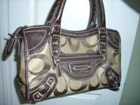 Very nice imitation Coach Purse for sale. Like new,