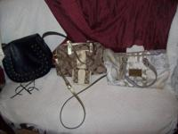 (2) Coach bags in exceptional condition. $50 white (14""