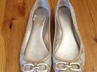 For sale 1 pair of Coach flats size 8 for $40 Also 1