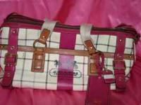 I have a nearly new coach travel bag that retails for