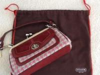 Vintage unique bag Manufacturer Coach Condition gently