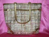 I have a nearly new Coach Tote bag that retails for
