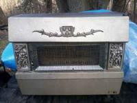 Franco Belge coal stove for sale. its in great shape