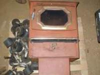 Vansco Industries Coal Stove. Serial #10647 Model