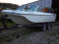 Need toto sell ASAP...1974 cobalt trihaul ski boat has
