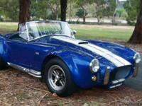 or Sale: Shell Valley 427SC Cobra replica. Blue