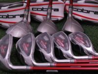 All standard length, very good condition clubs & grips,