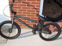 "20"" BMX Cobra Nirtrous. Bought new in June for over"