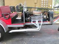 Cobra V8 Trike--Chevy 350 engine--350 trans (3