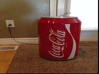 -Coca-Cola Can Mini Fridge-Really quiet mini