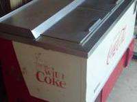 I have an old Coca Cola cooler for sale. It is in
