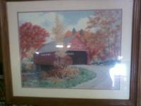 I have 2 pieces of framed Coca-Cola art work. I believe