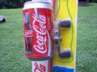 A NEW JOHNSON COCA-COLA FISHING ROD AND REEL,UNIQUE