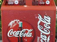 COCA-COLA VENDING COOLER - EXCELLENT CONDITION AND