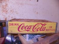 3 wooden Coca Cola crates If interested please call