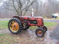 1954 Cockshutt 30 tractor. Rare wide front end,