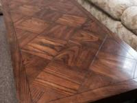 Solid wood coffee table and end table available for