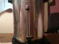 West Bend 55 cup coffee maker good Cond.  Location: