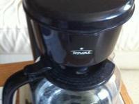 A Rival Coffee Maker,  Gently used, With some filter