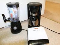 im selling barly used coffee maker,fruit juice maker