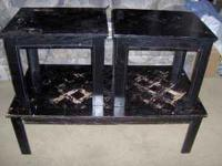 You are viewing a Coffee table & 2 End table Set for