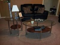 Coffee table & 2 end tables for only $350 obo in great