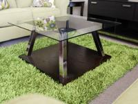 Coffee Table & 2 end Tables modern  Cleaning our