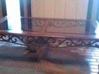 Beautiful coffee table gently used . Any questions call