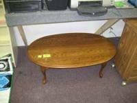 NICE COFFEE TABLE WE DELIVER CANDYS CORNER 3578 FULTON