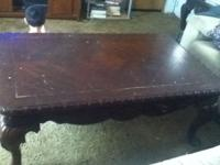 Im selling my big coffee table because is too big for