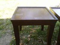 for sale coffee table and 2 end tables asking $40 firm