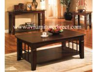 Coffee Table in Cherry finish.  Product ID#700008