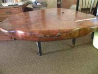 Many coffee tables, assorted styles, all great quality.