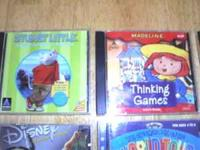 "Top Left ""Stuart Little""- 5 fun games on one cd-rom for"