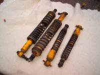 I have a set of coil-over shocks that I removed from my