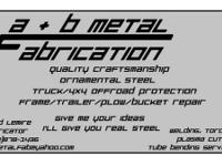 A&B Metal Fabrication has actually currently made