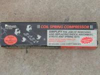 Pittsburgh Coil Spring Compressor Great for MacPherson