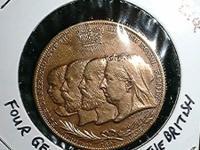 Description COIN – 1897 Four Generations