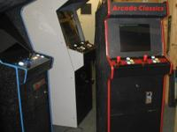 Coin Operated Multigame Arcade Machine Scaled Down
