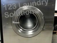 Huebsch Front Load Washer 208-240v Stainless Steel