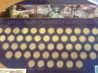 This is a collection of all the US Quarters including