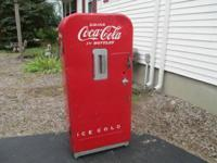 i have a round top 1950's coke vendo 39 vending
