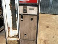 Cavalier coke machine.. Works but needs work.