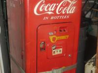 I have a V.C.M.A 149 Coke machine for sell. This