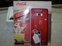 I have a boxed Coke Piece of equipment Radio available
