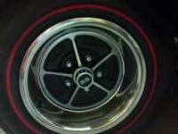 Coker red ring tires 205/75/15 and Chevrolet ss wheels