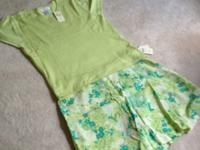 Coldwater Creek Lime Top, size large.  Silk, nylon,