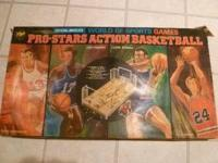 Vintage Coleco Pro-Stars Action Basketball game from